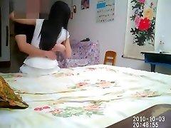 Čínsky pár domáce whoring záznamy Vol.03