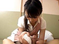 Japonais belle maison femme de ménage