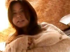 Fuko obtient un souffle de collant chaud goo sur tout le massif des adolescentes pis