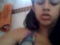 Indijski djevojka drkati tako teško