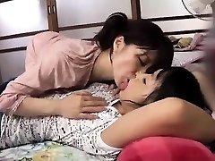 Seksi azijskih naselitve dekle muco prsti in zajebal