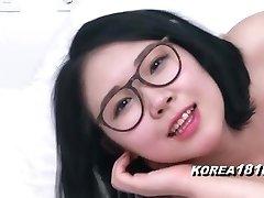 KOREA1818.COM - Seksi Očala korejski dekle!
