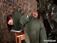 Steamy red haired getting slapped part3