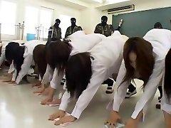 Amazing Japanese model Hinata Mahiru, Rui Hazuki, Kalen Ichinose in Crazy Fetish, Slapping JAV clip