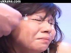 Japonski Bukkake In Facials Zbirka 30334