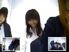 Zipang-5225 Chytil série prvé vydanie! Zatvorené zbohom uniformy girls photo booth Skryté Kamery Vol.12