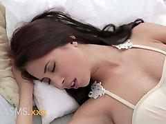 ORGAZM busty ergen Asyalı Hintli kız Romantik üreme
