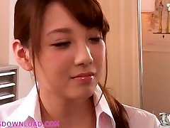 Beautiful big-boobed asian teen in lingerie