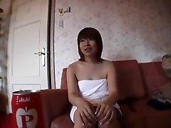 neuveriteľné japonská dievča v najhorúcejšie fajčenie, bukkake java-film