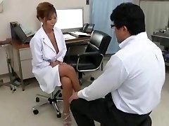 Exotic Japanese dame Kairi Uehara in Incredible Hefty Knockers, Cumshots JAV movie