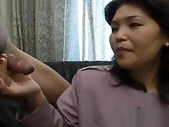 loco modelo japonés en la increíble mamada, squirting jav video