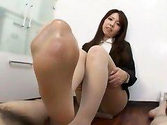 Exotic Japanese slut Reiko Higuchi in Finest JAV clamp