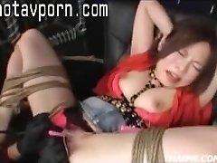 Asian Parents Make A Teen Orgasm