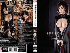 Increíble Japonés de pollo Aimi Yoshikawa en el Mejor de los gangbang, látex JAV clip