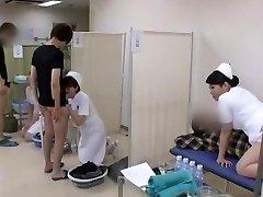 Killer Asian model Yuri Aine, Yu Kawakami, Aya Sakuraba in Horny Nurse JAV vid