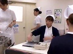 Insatiable Japanese whore Aya Sakuraba, Yuri Aine, Yu Kawakami in Horny Handjobs JAV clamp