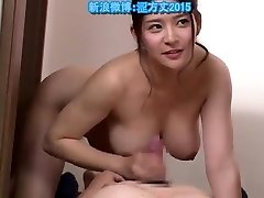 Asian milf fucks father behind not daughter