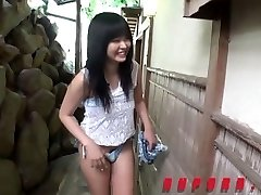 Cute Jav Teen Finger-banged In The Culo At bed