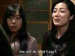 Jap mummy daughter keeping house m80 subs
