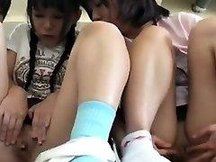 Summer Schoolgirls With Suntan Trace