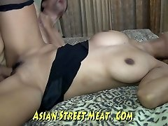 Skank Chinese Wenchith Wobbly Tits