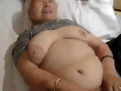 80year old Japanese Granny Still Loves to Pulverize (Uncensored)