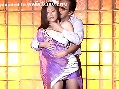 Crazy Japanese chick Yuna Shiina in Greatest Creampie, Gonzo JAV clip