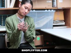 Shoplyfter - Asian Cutie Busted For Stealing