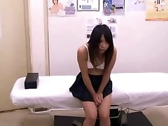 Japanese schoolgirl (18+) medical examination
