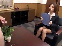Incredible Japanese whore Akari Asahina in Finest CFNM, Cumshots JAV video