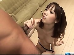 Sensual Ageha Kinashita craves to swallow some jizm