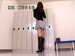 Japan Girl And Here Pantyhose