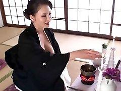 زیبا, ژاپنی, مادر دوست داشتنی با