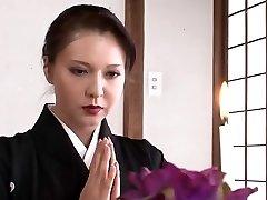 زیبا, ژاپنی, مادر من می خواهم به فاک