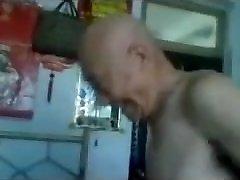 Fucking a Chinese Grannie