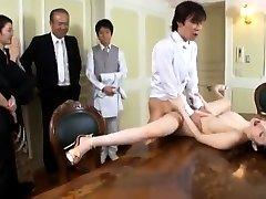 Gigantic boobs slut sex in public