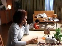 Insatiable japanese mature babes sucking