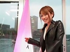 Exotic Japanese whore in Hottest Puny Knockers, MILFs JAV clip