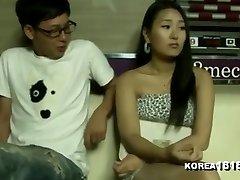KOREA1818.COM - Jaw-dropping Pool Hall Girl