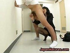 Natsumi kitahara rimming en kille part1