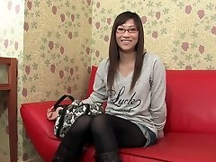 Čalis jūtas geeky girl's tits un incītis viņas istabā