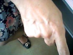 asian female doctor checks (covert cam)