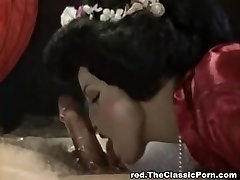 Long and deep blowjob Chinese style