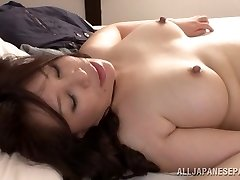 Warm mature Asian babe Wako Anto likes pose 69