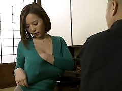 Ruri Saijou in Enjoy Father In Law More Than Husband part 1.2
