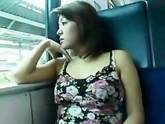 asian fuck in the train