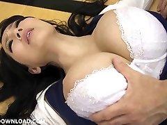 Giant busty japanese babe