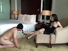 Asian dominatrix.