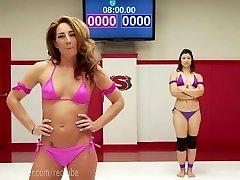 Extreme Lesbo Erotic Wrestling