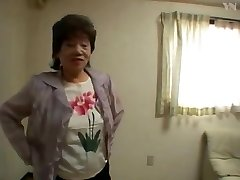 65 Asian Grandmother Tub